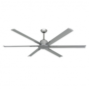 "72"" Titan II Ceiling Fan by TroposAir - Brushed Nickel"