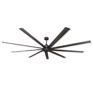 Troposair 96 Inch Liberator Ceiling Fan Outdoor Rated Oil Rubbed Bronze Dc Motor