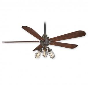 Minka Aire Alva Ceiling Fan - F852L-TI - Tarnished Iron