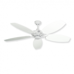 Coastal Classic Ceiling Fan - Pure White