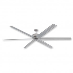 "Craftmade Colossus 96"" Ceiling Fan - Brushed Pewter - COL96BP6"