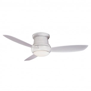 Concept II WET Ceiling Fan F474L-WH White