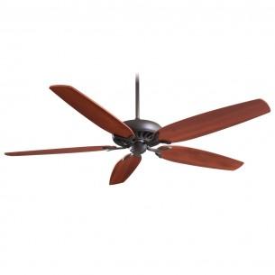 Great Room Ceiling Fan by Minka Aire F539-ORB w/ Dark Walnut Blades