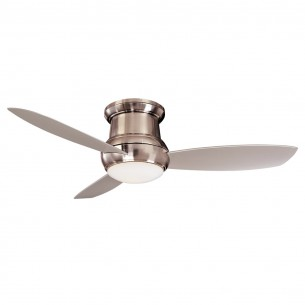 Minka Aire F474L-BNW Ceiling Fan - Brushed Nickel Wet