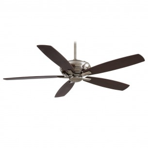 "60"" Kola XL Ceiling Fan F689-PW - Dark Maple Blades"