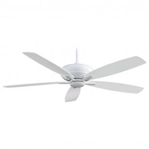 "Minka Aire Kola XL 60"" Ceiling Fan - F689-WH White Finish"