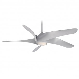 Artemis XL5 Ceiling Fan by Minka Aire Fans - Silver Finish