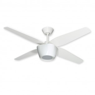 "52"" Fresco Ceiling Fan - Pure White w/ Pure White Blades"