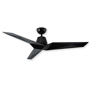 "60"" Vortex Ceiling Fan by Modern Forms - Gloss Black - FR-W1810-60-GB"