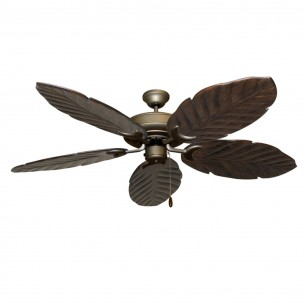 125 Series Raindance Antique Bronze - Dark Walnut Blades