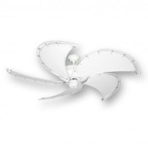 Raindance Nautical Ceiling Fan - Pure White - Pure White Blades