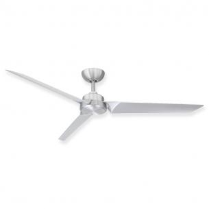 "62"" Roboto Ceiling Fan - Brushed Aluminum"