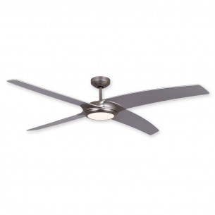 "56"" TroposAir Starfire Ceiling Fan - Brushed Aluminum Finish"