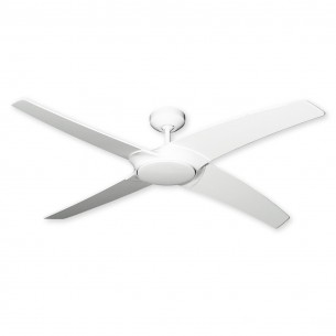 "56"" Starfire Ceiling Fan by TroposAir - Pure White Finish"