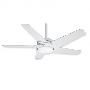 Casablanca 59091 - Stealth Ceiling Fan - Snow White