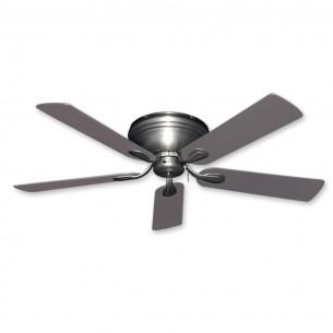 Stratus Ceiling Fan in Satin Steel w/ Statin Steel Blades