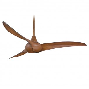 Minka Aire Wave Ceiling Fan - Distressed Koa Finish