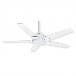 Casablanca 59110 Zudio Ceiling Fan - Snow White