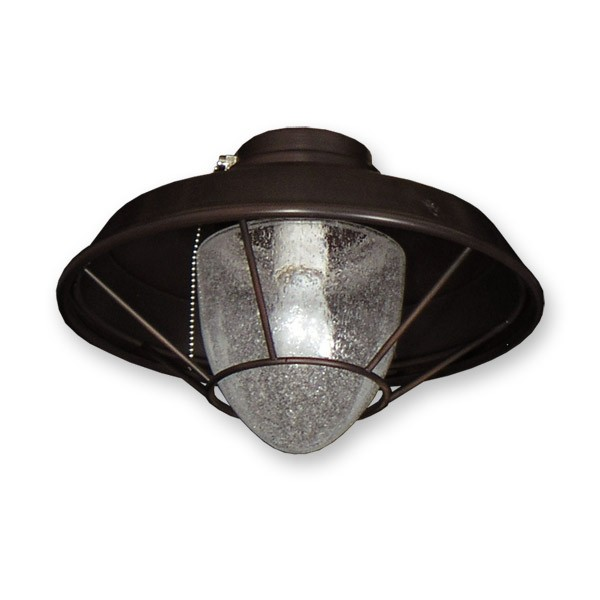 FL155 Lantern Style Fan Light   Oil Rubbed Bronze