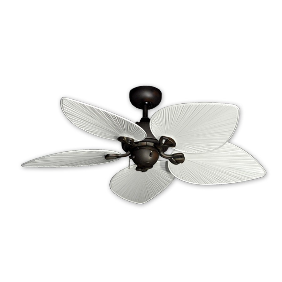 42 inch tropical ceiling fan small oil rubbed bronze bombay by 42 bombay hawaiian ceiling fan oil rubbed bronze pure white blades aloadofball Gallery