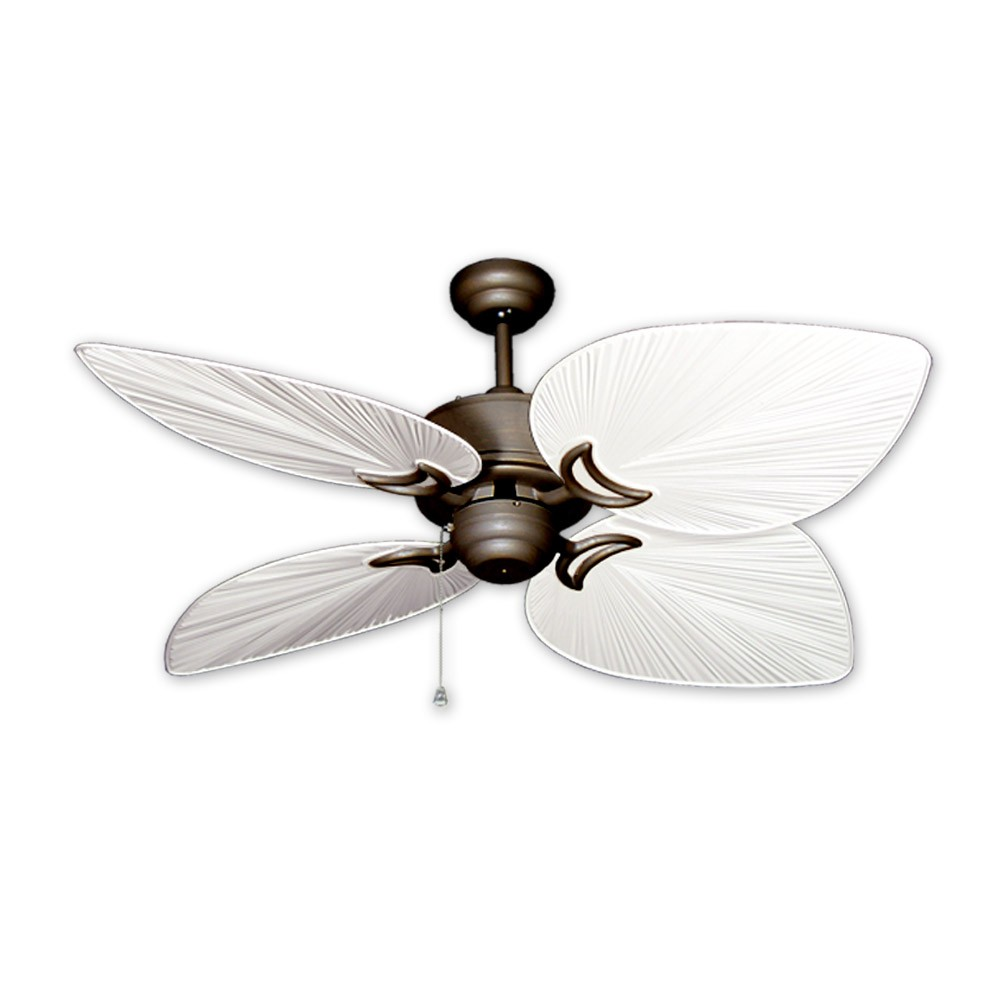 Outdoor tropical ceiling fan oil antique bronze bombay by gulf 50 bombay tropical ceiling fan antique bronze pure white palm style blades aloadofball Gallery
