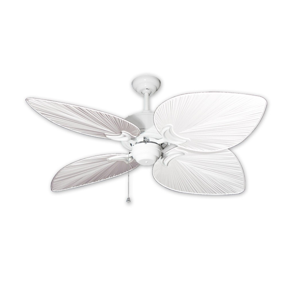 Outdoor tropical ceiling fan pure white bombay by gulf coast fans 50 bombay ceiling fan pure white hawaiian pure white blades aloadofball Gallery