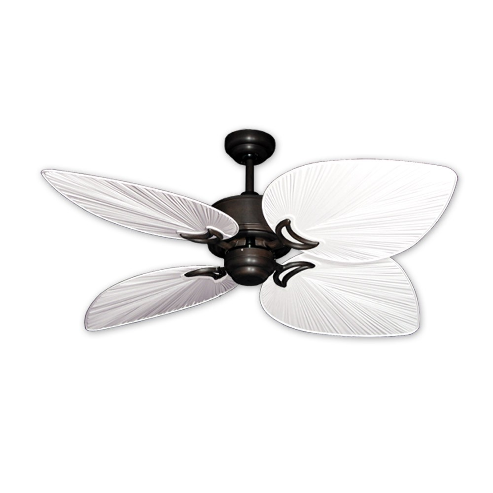 Outdoor Tropical Ceiling Fan Oil Rubbed Bronze Bombay By