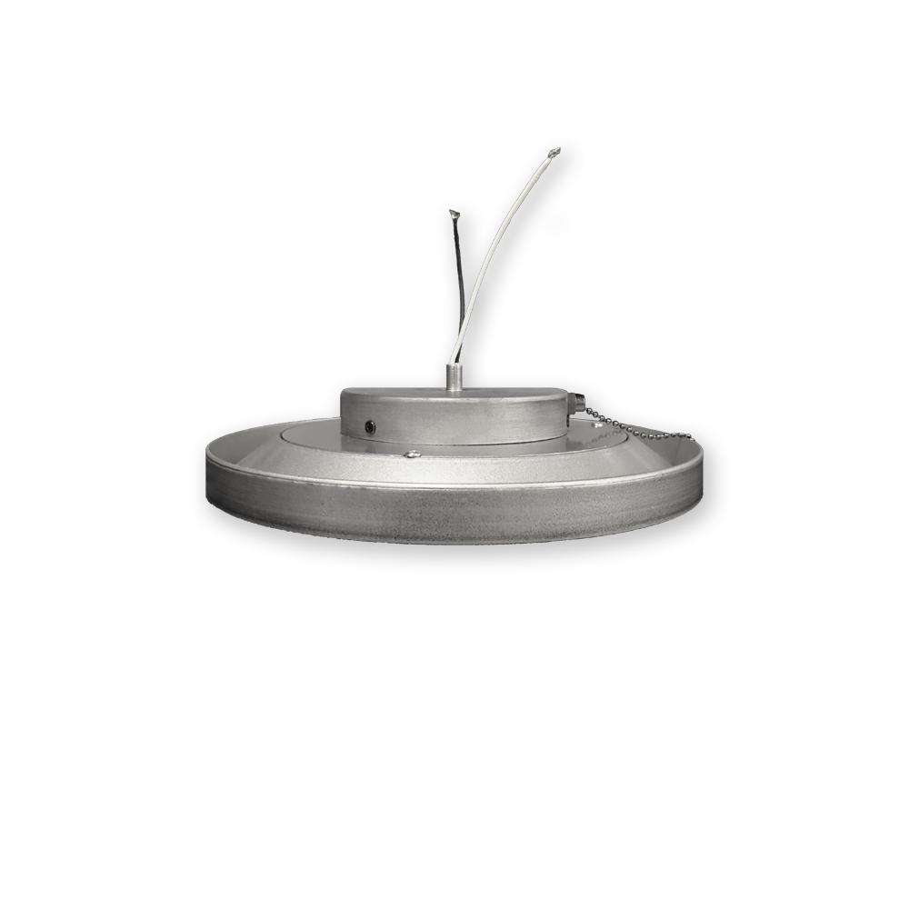 Super Low Profile Indoor Outdoor Led Ceiling Fan Light Kit 18 Watts 3000k Brushed Nickel