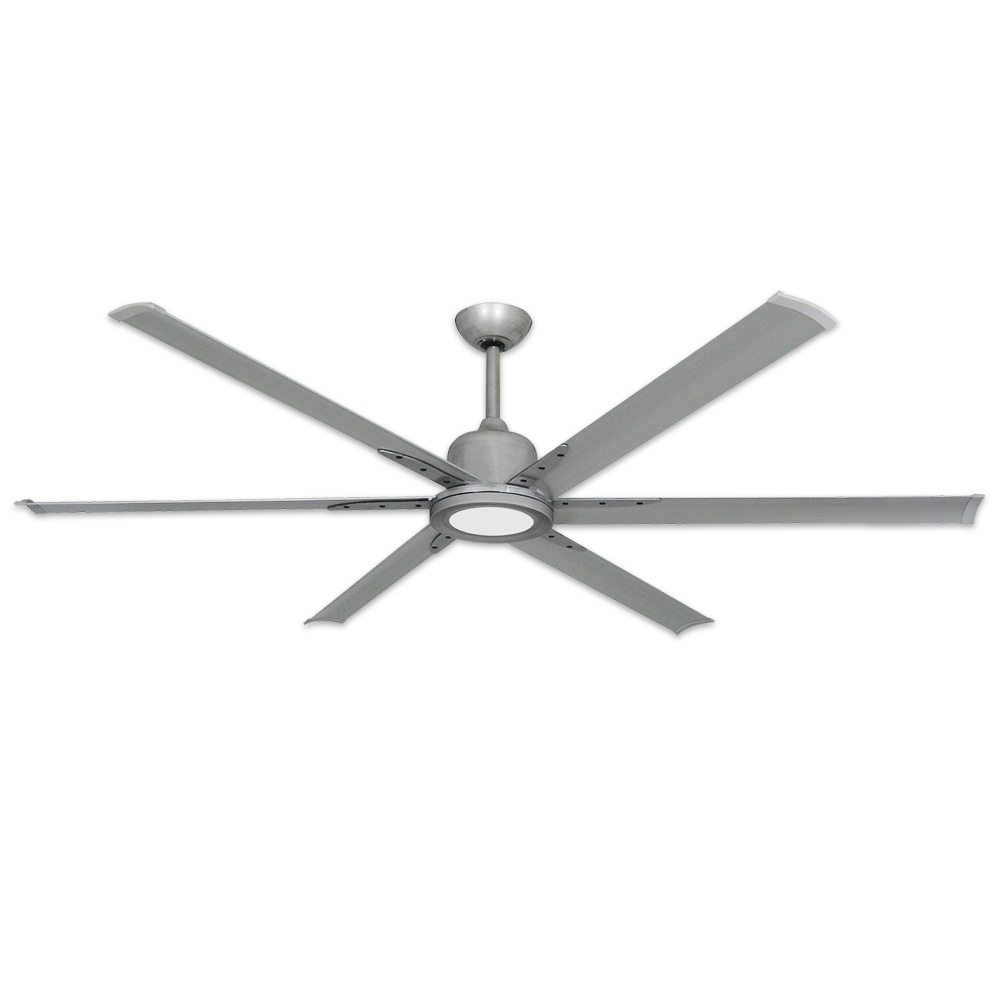 Troposair 72 Titan Ii Ceiling Fan Brushed Nickel Optional Led Light Sold