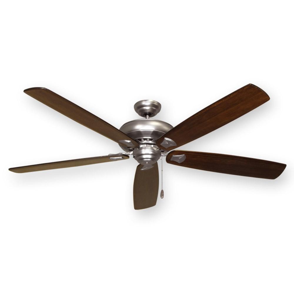 Satin Steel 750 Series Tiara Ceiling Fan 72 Quot By Gulf