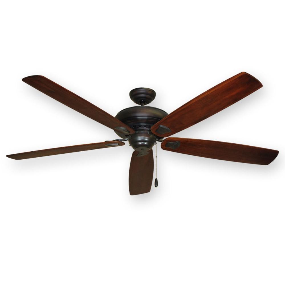 Beautiful Large Ceiling Fan: Oil Rubbed Bronze 750 Series Tiara Ceiling Fan