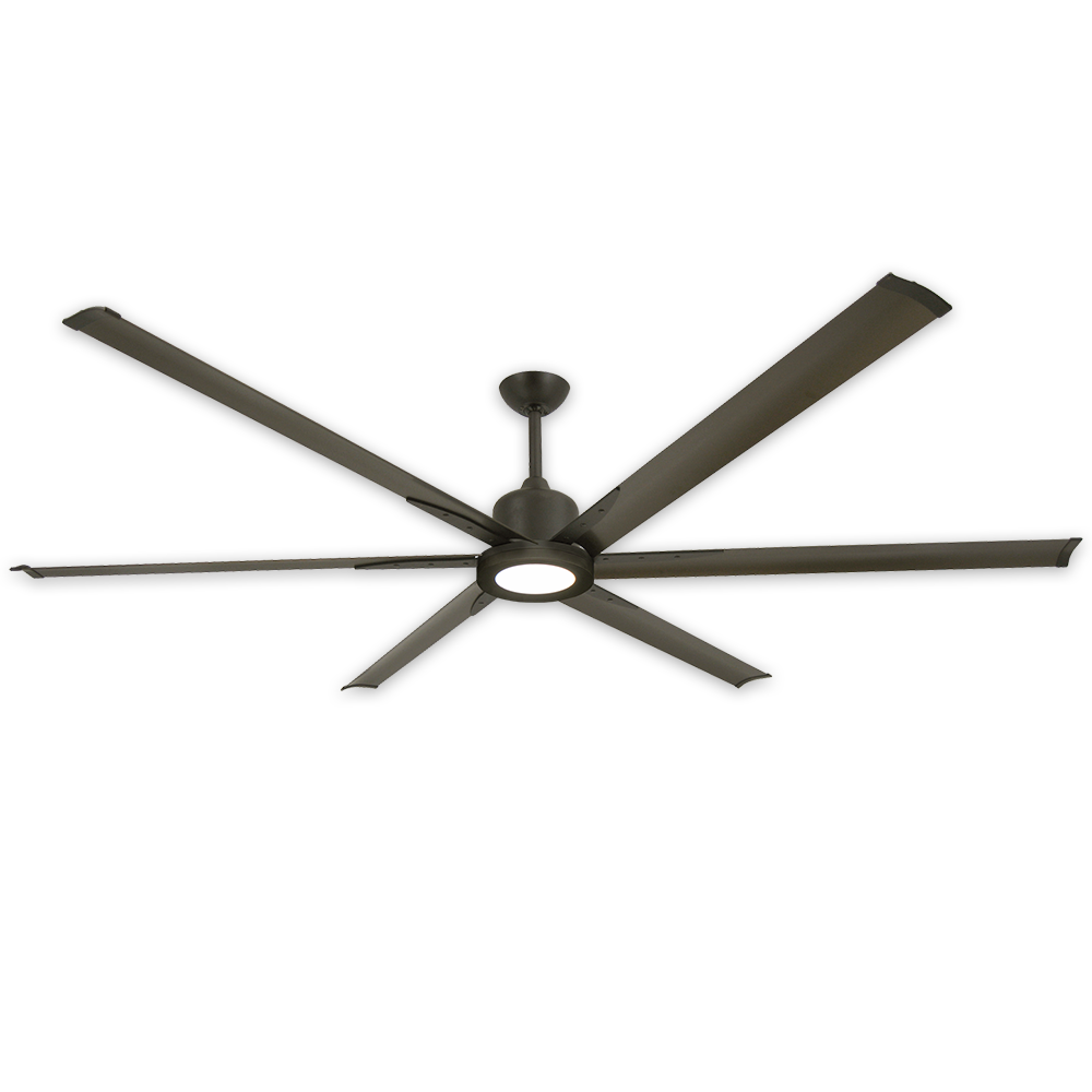 84 Inch Titan Ii Ceiling Fan By Troposair Commercial Or Wiring A Light Separately From 2 Locations In The Same Oil Rubbed Bronze Shown W Optional Led Sold