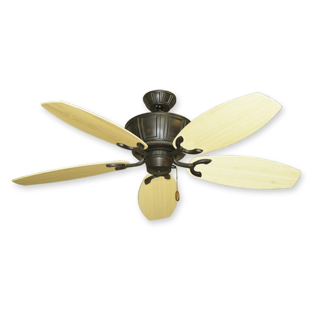 """Large Ceiling Fans For High Ceilings Australia: 52"""" Bamboo Ceiling Fan"""