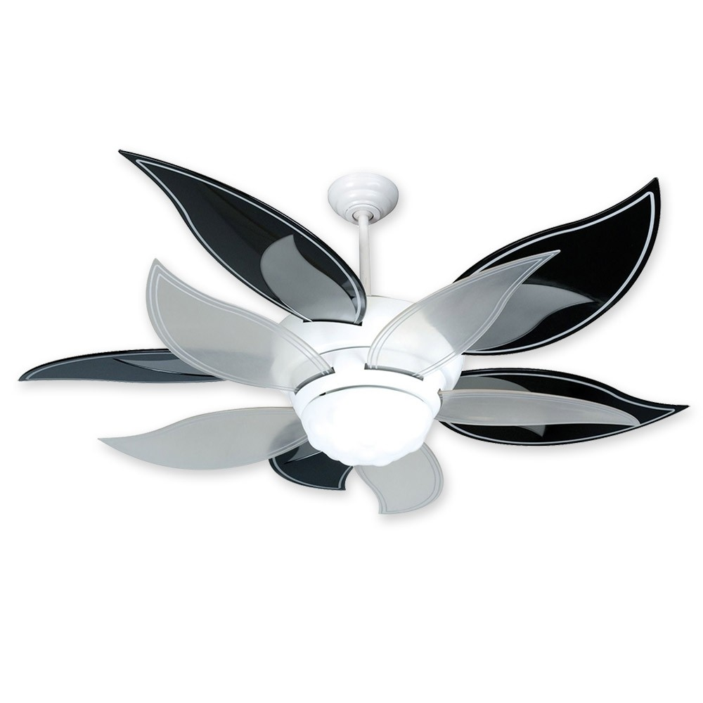 52 Quot Craftmade Bloom Flower Ceiling Fan Bl52w W Bbl52blk