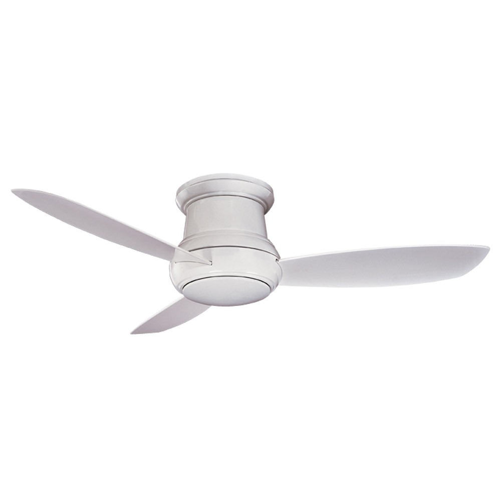 Concept II WET Ceiling Fan by Minka Aire F519 WH White Close