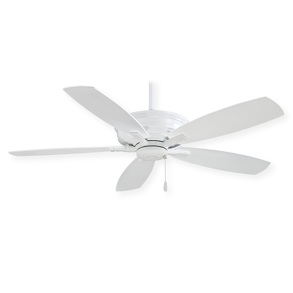 Minka Aire Kafe F695 Wh 52 Quot Traditional Ceiling Fan