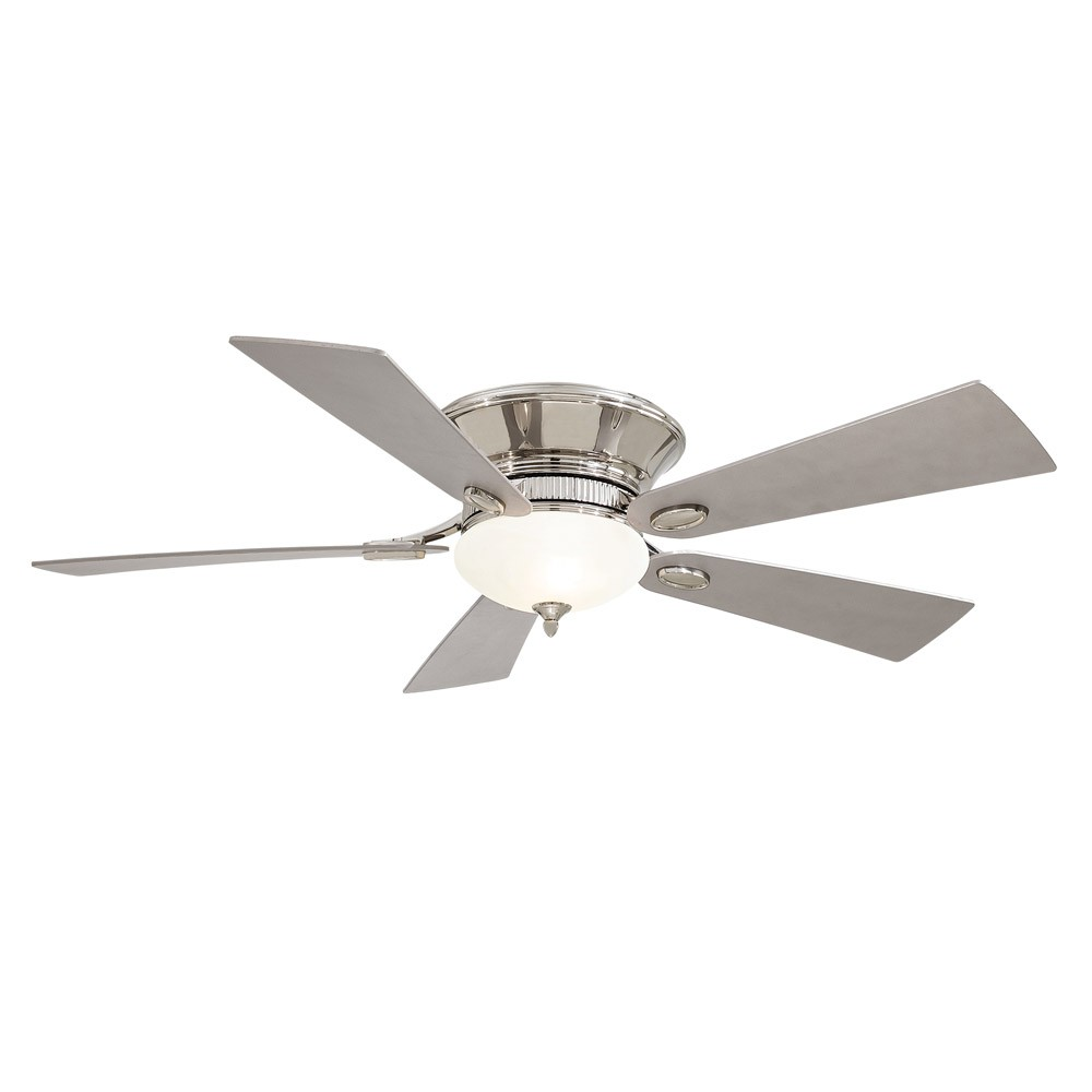 Minka aire 52 delano ii ceiling fan f711 pn polished nickel flush delano ii f711 pn ceiling fan by minka aire polished nickel aloadofball Choice Image