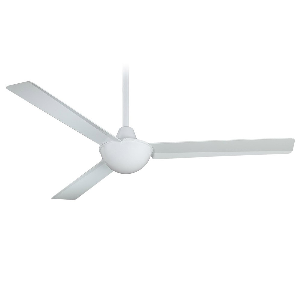 52 inch minka aire kewl ceiling fan f833 wh white industrial styling kewl 52 ceiling fan by minka aire f833 wh white aloadofball Image collections