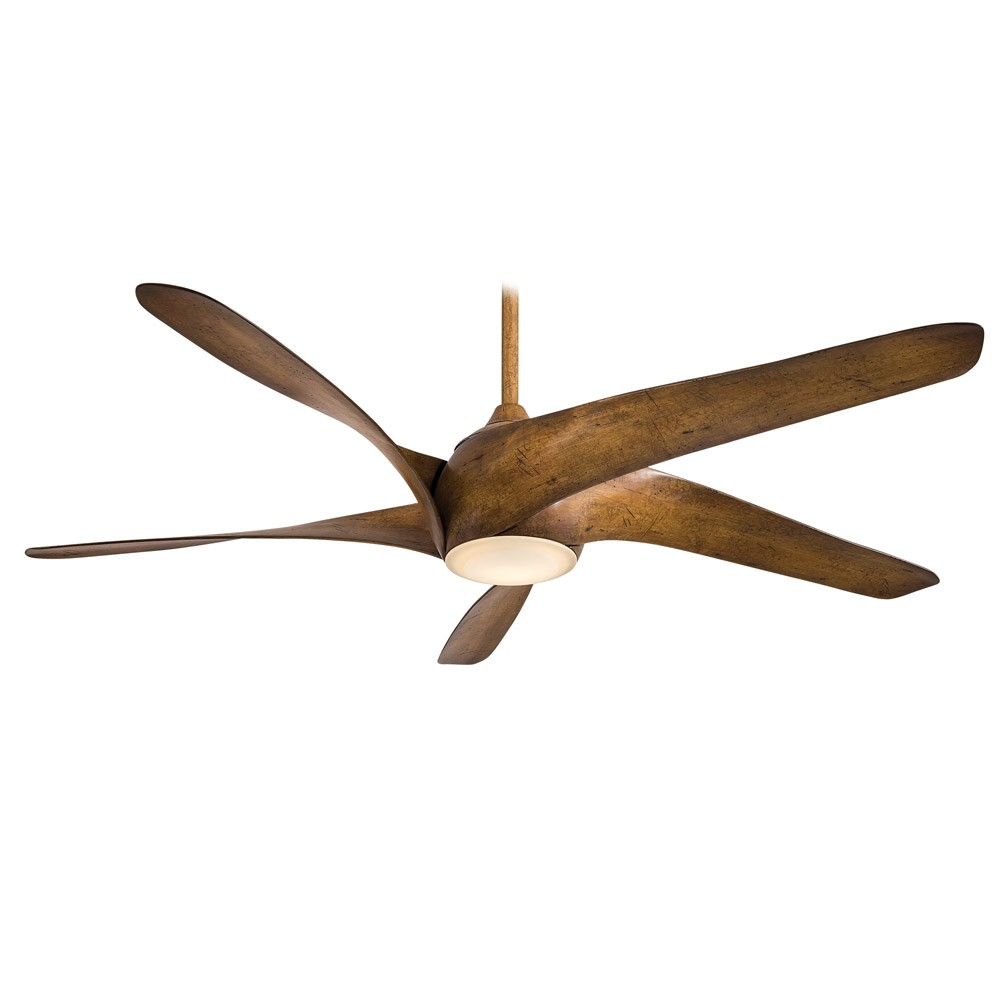 Modern Dark Koa Wood Ceiling Fan Theteenline Org