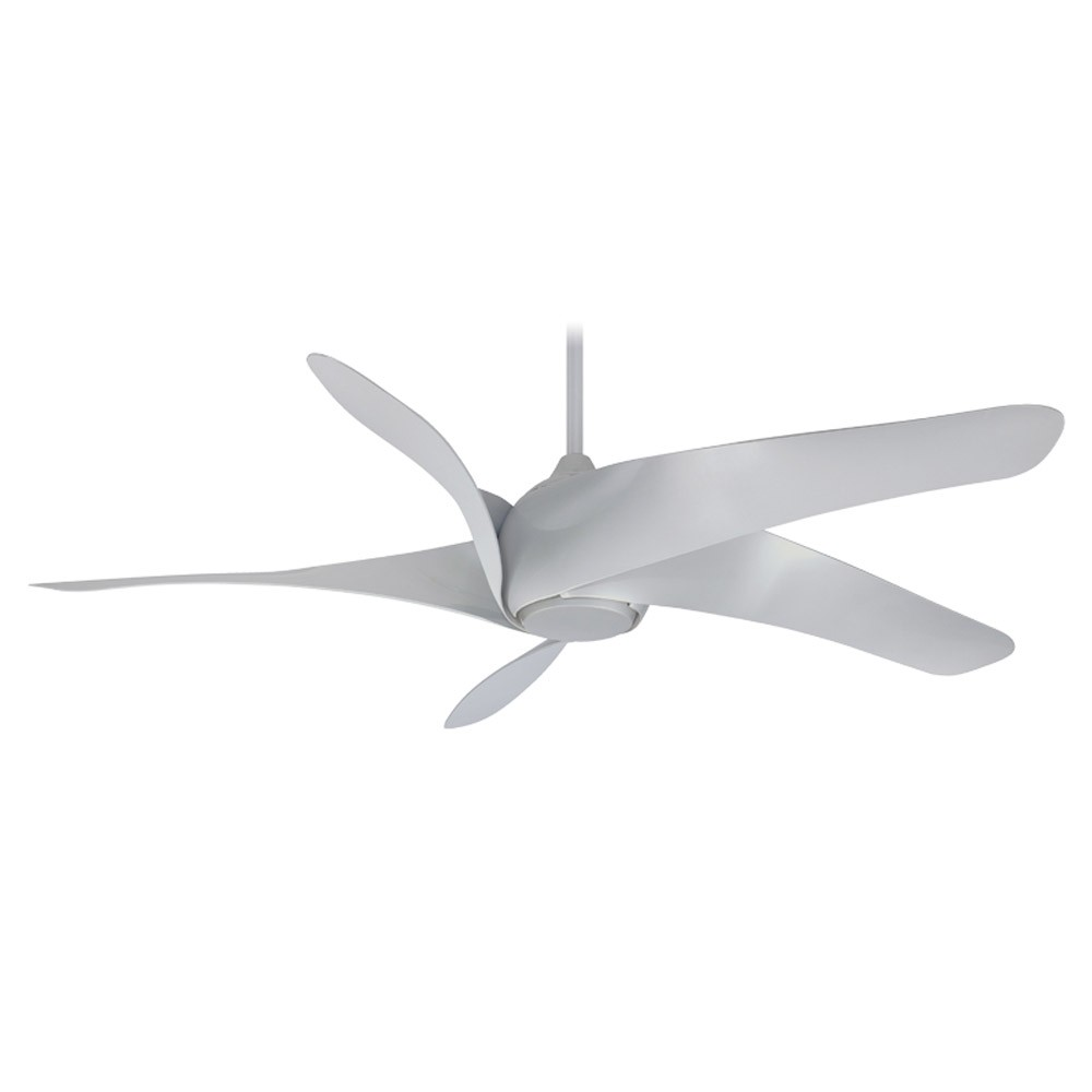 Minka aire fans f905 sl artemis xl5 65 ceiling fan silver finish artemis xl5 by minka aire fans shown without light aloadofball Choice Image