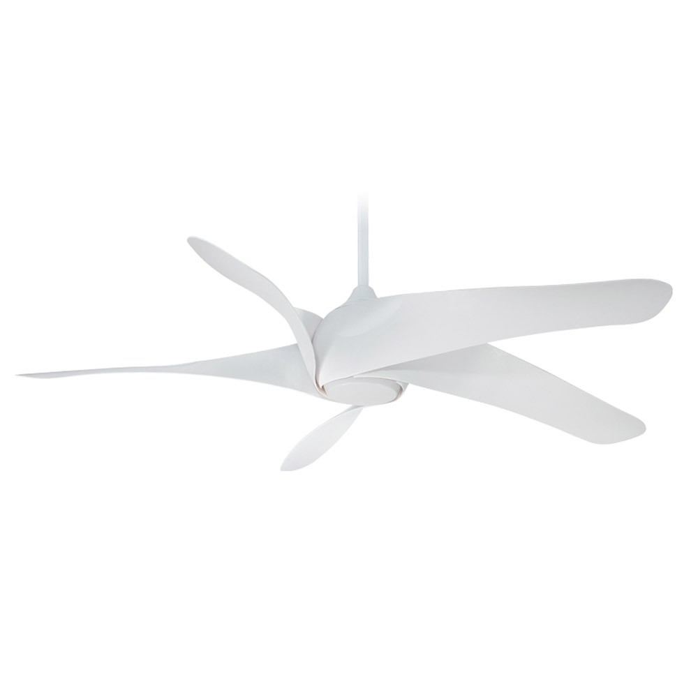 Minka aire f905 wh ceiling fan artemis xl5 65 ceiling fan artemis xlf ceiling fan white without light aloadofball Images