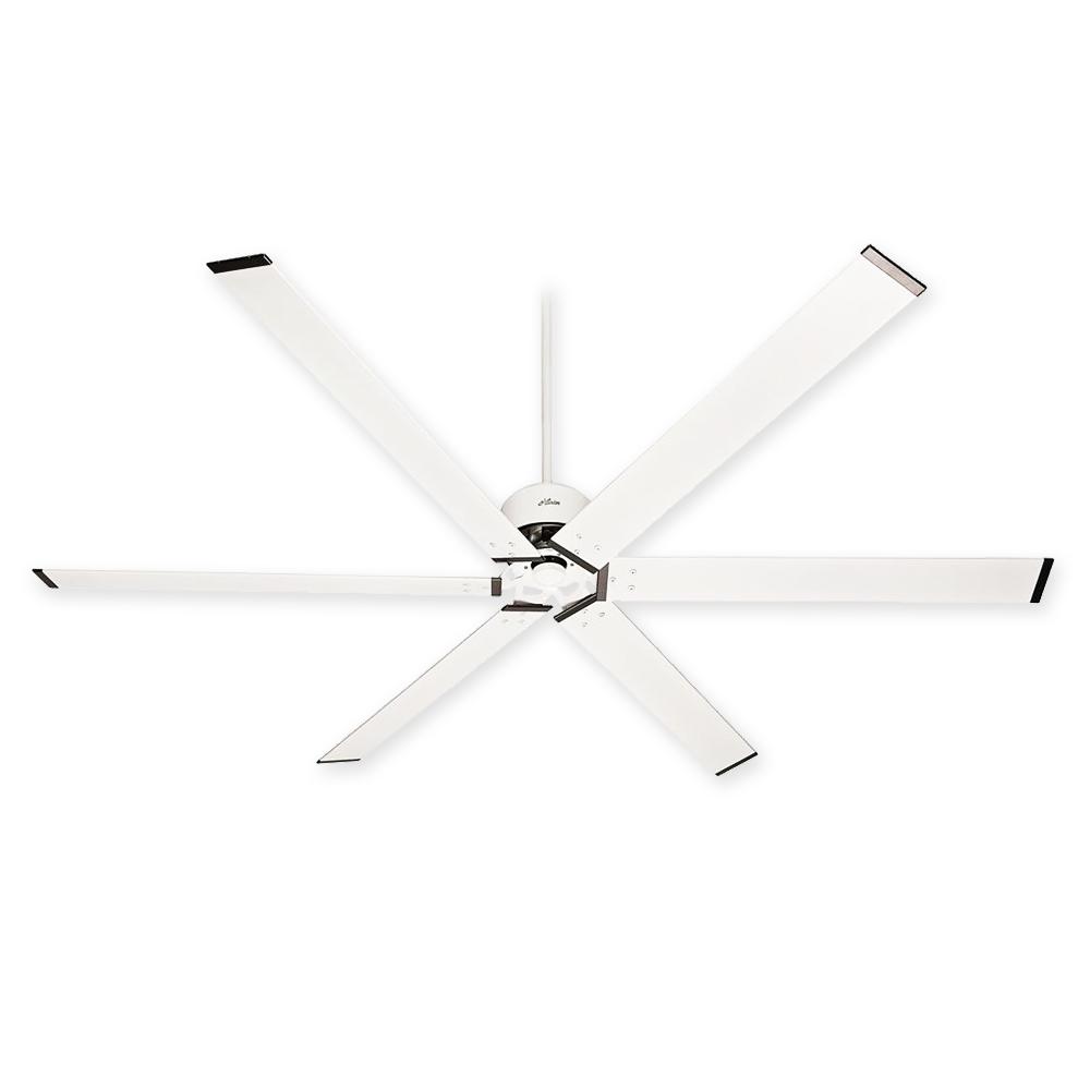 59132 Hunter Hfc 96 96 Inch Ceiling Fan Fresh White Finish