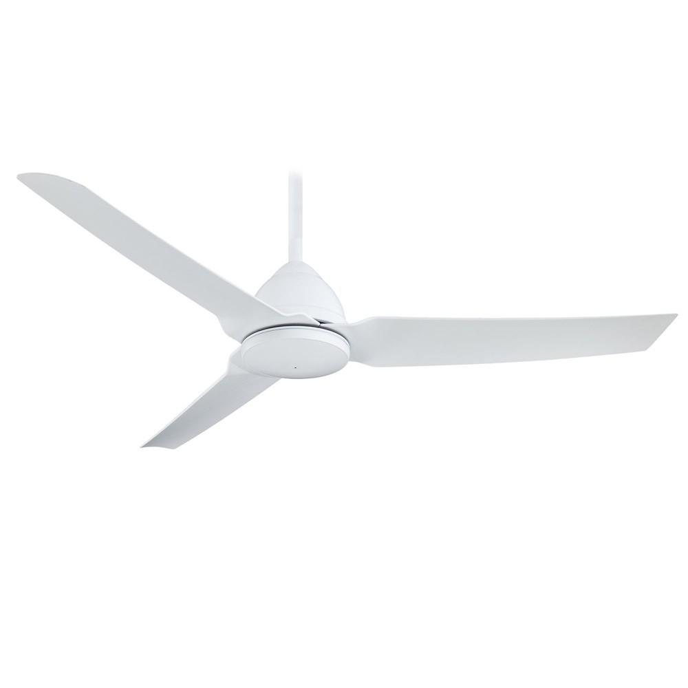 54 Quot Minka Aire Java Flat White Finish Ceiling Fan F753