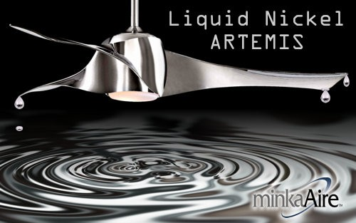Artemis Ceiling Fan By Minka Aire Beyond Amazing Liquid
