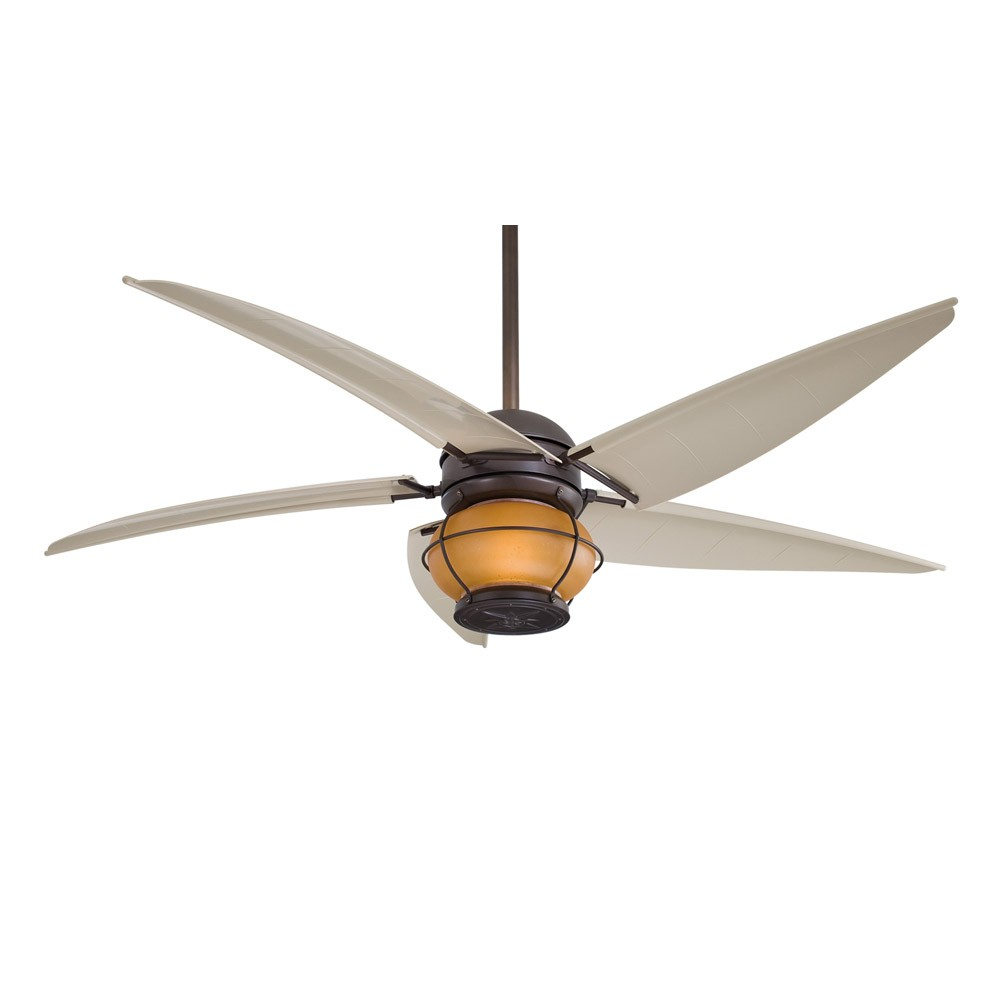 Minka aire magellan f579 l orb 60 outdoor ceiling fan with light magellan oil rubbed bronze by minka aire aloadofball