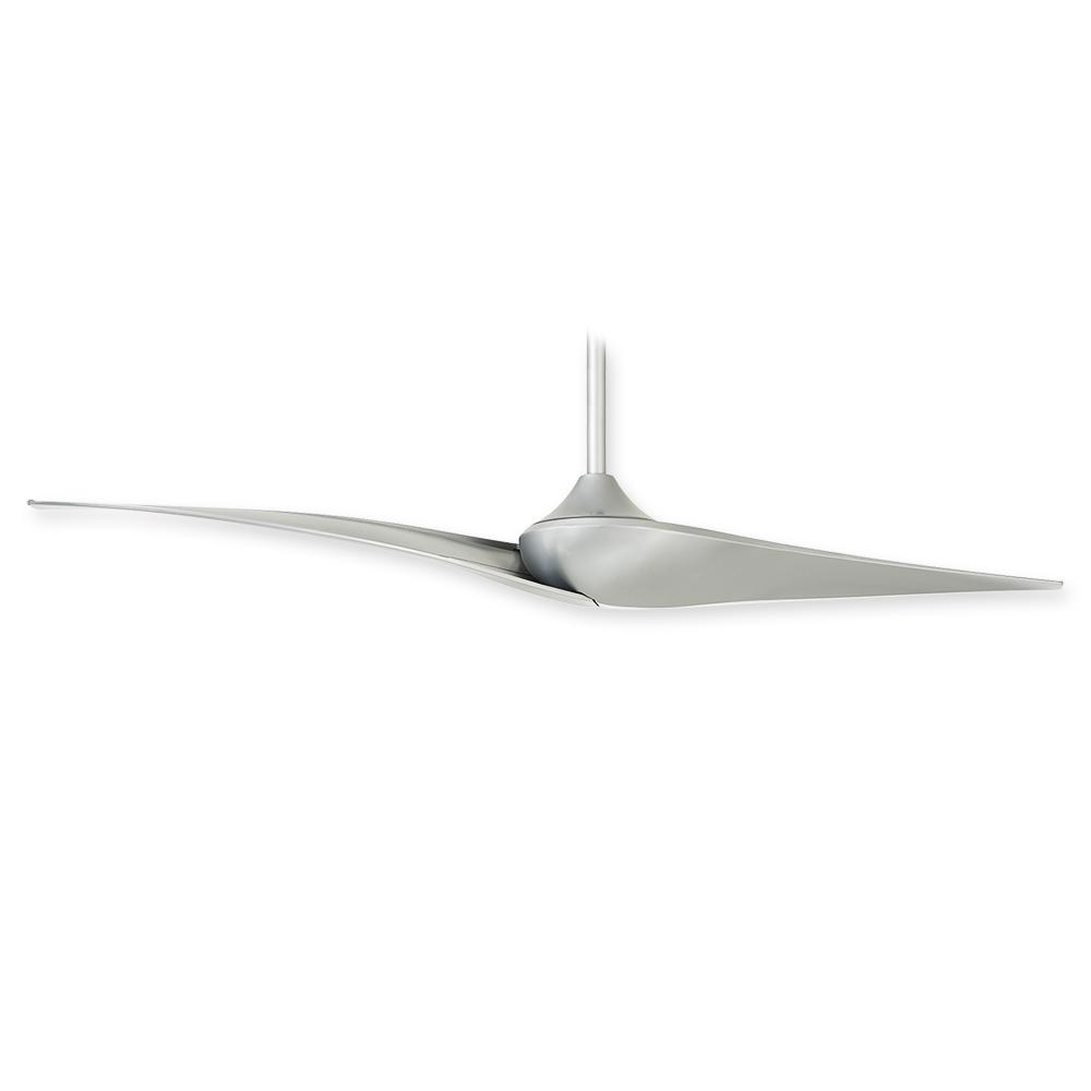 Minka Aire Wave Ii Ceiling Fan F846 Sl Silver Finish