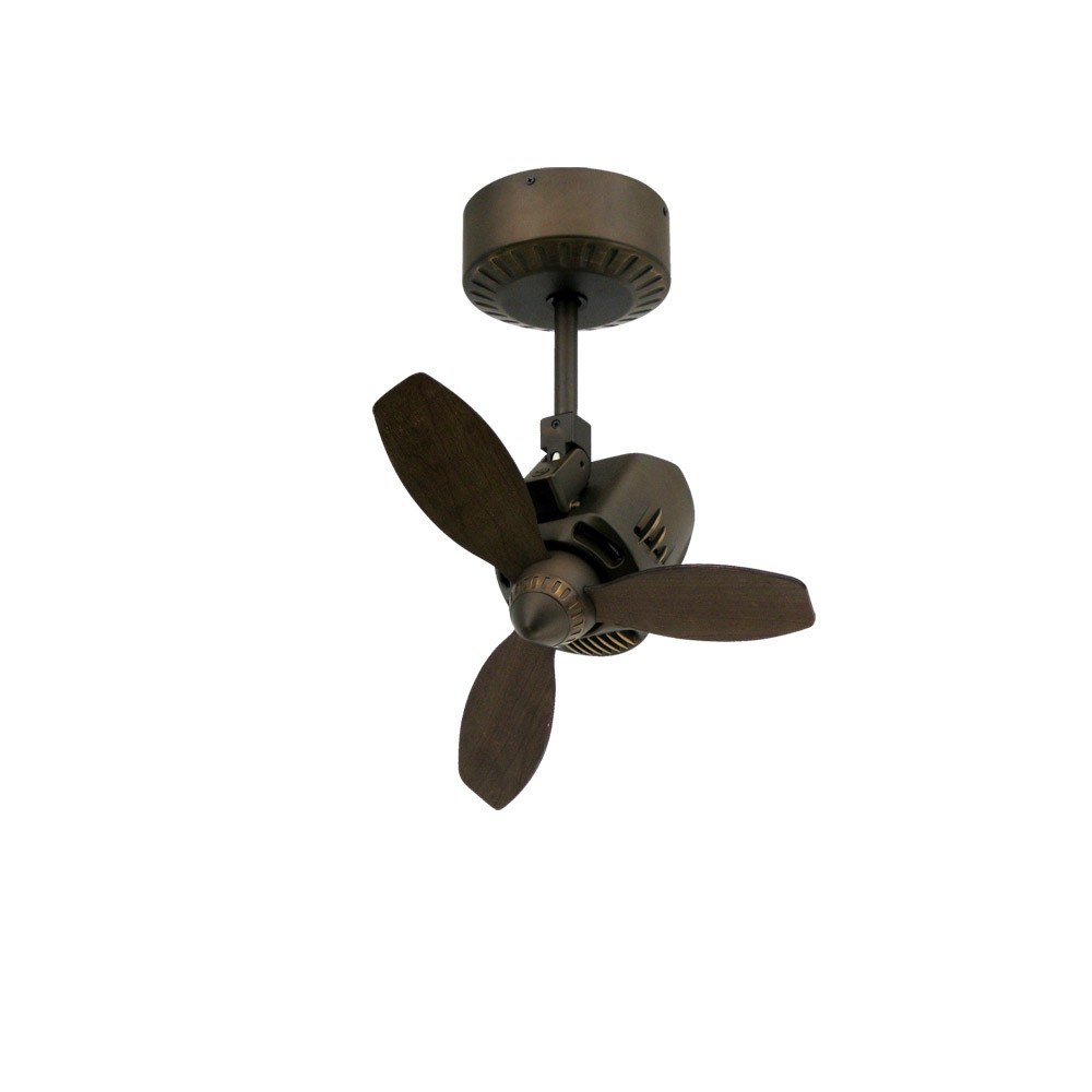 TroposAir Mustang Oscillating Ceiling Fan Oil Rubbed Bronze Finish - Small kitchen ceiling fans with lights