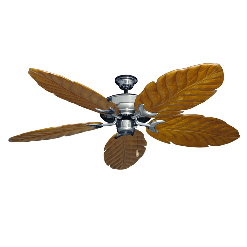 Brushed Nickel Raindance 100 Series Ceiling Fan Real