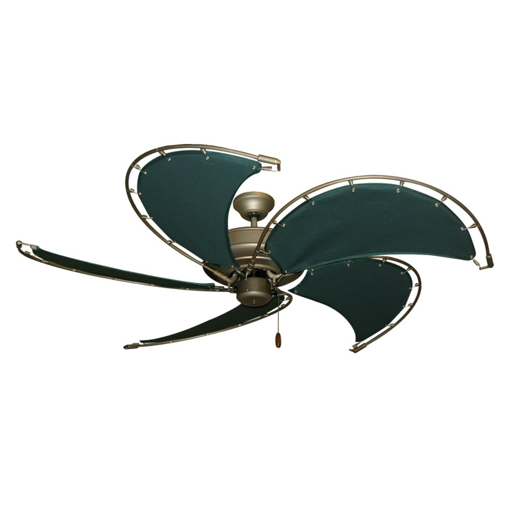 Gulf Coast Nautical Raindance Ceiling Fan Antique Bronze
