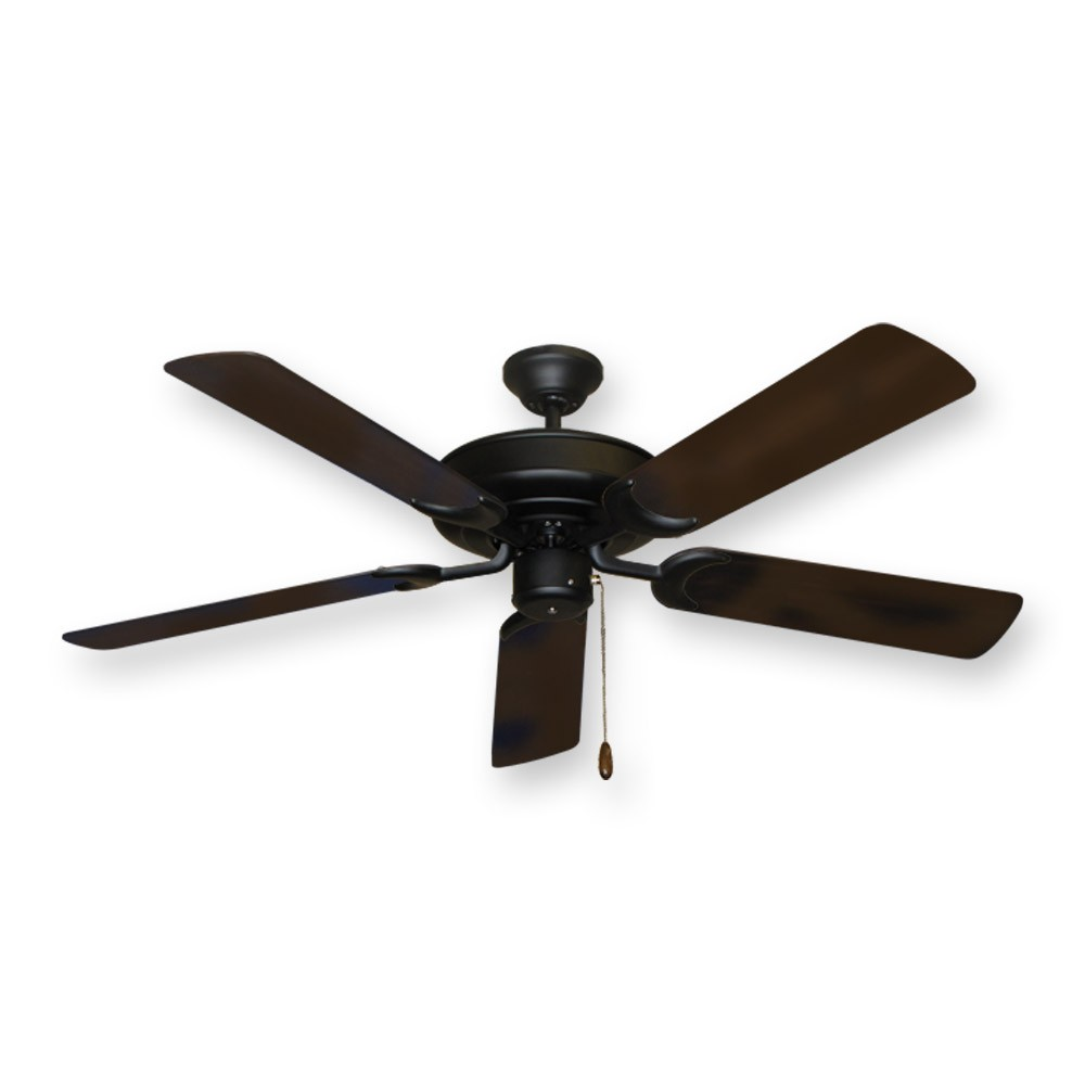 56 Quot Palm Blade Ceiling Fan Gulf Coast Palm Breeze Ii In Pure White